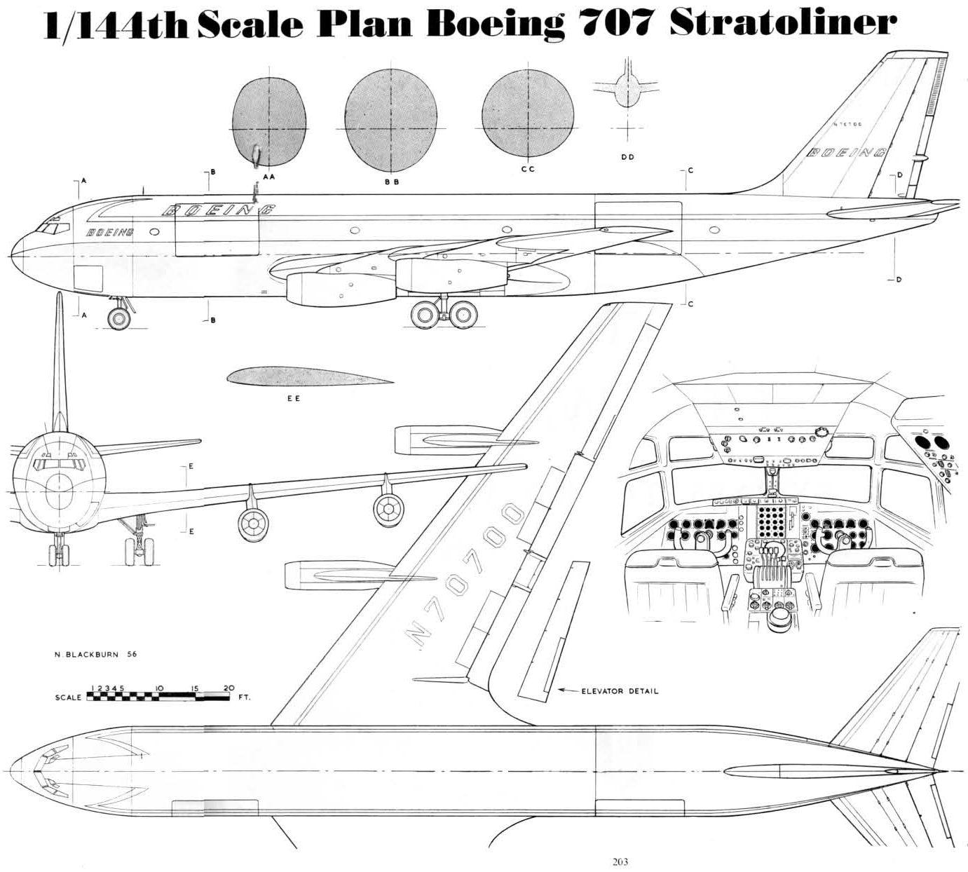 boeing 707 wiring diagram manuals