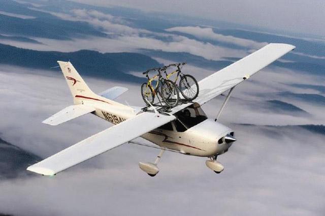 Bike Rack For Cessna 172 Aviation Humor
