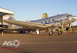 DC-3 Hawdon arrived at HARS