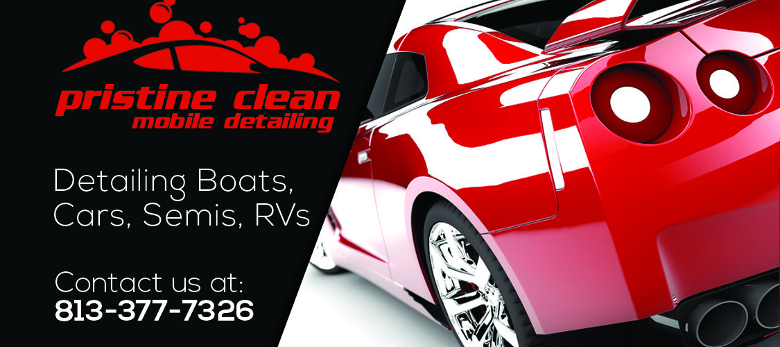Pristine Clean Mobile Detailing Business Cards Avidchick Productions
