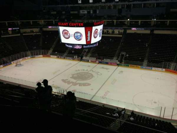 Giant Center Hershey Bears Seating Chart Elcho Table