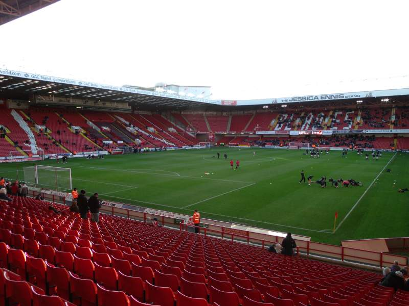 Sheffield United Iphone Wallpaper Bramall Lane Section Kop Stand Gangway G Row Y Seat 182