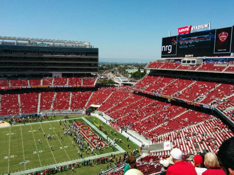 49ers Seating Chart Levi S Stadium - Best Seat 2018