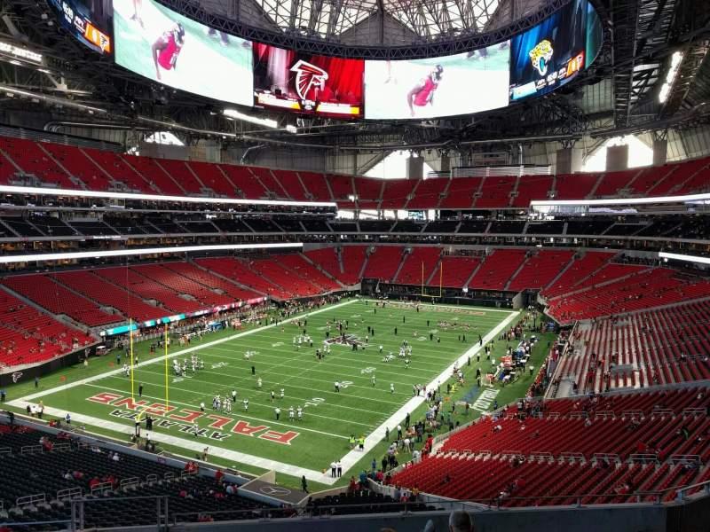 Atlanta United Fc Iphone Wallpaper Mercedes Benz Stadium Section 246 Row 9 Seat 20