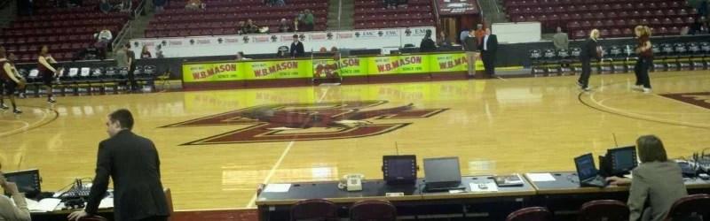 Conte Forum, home of Boston College Eagles