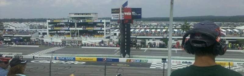 Seat view reviews from Pocono Raceway