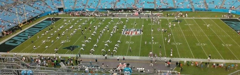Seat view reviews from Bank of America Stadium, home of Carolina