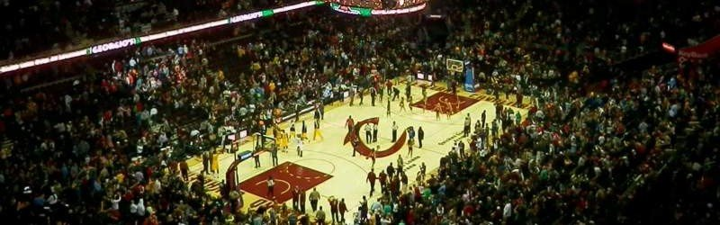 Rocket Mortgage FieldHouse, home of Cleveland Cavaliers, Cleveland