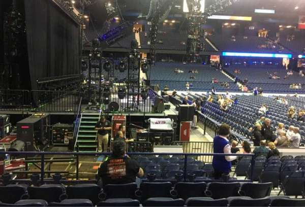Allstate Arena, section 104, home of DePaul Blue Demons, Chicago