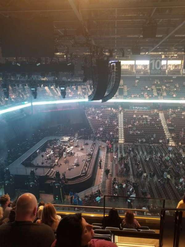 Mohegan Sun Arena, section 119, home of Connecticut Sun, New England