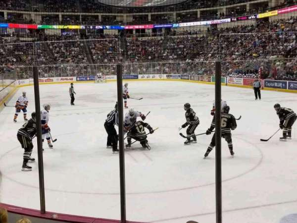 Giant Center, section 112, home of Hershey Bears