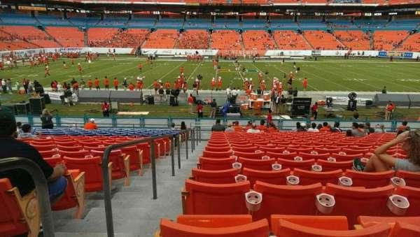Hard Rock Stadium, section 142, home of Florida Marlins, Miami