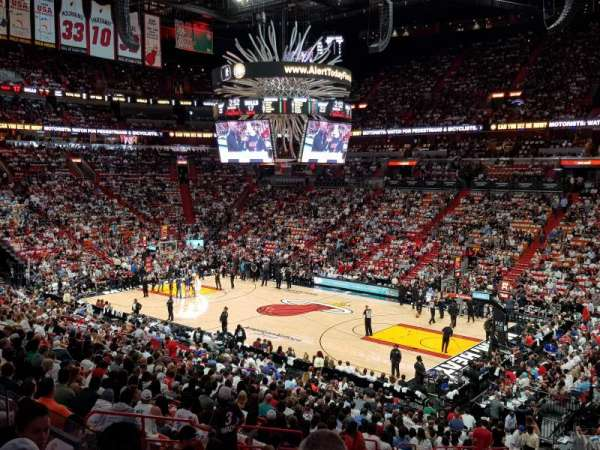 American Airlines Arena, home of Miami Heat