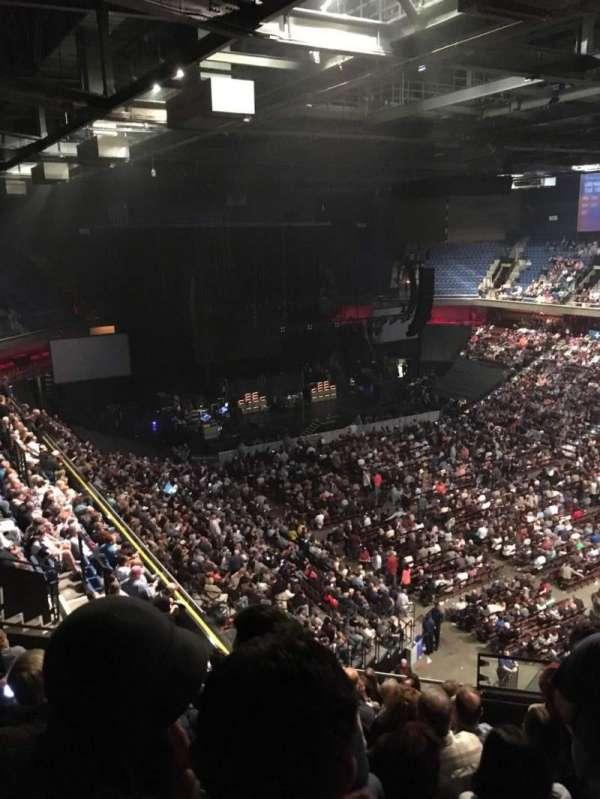 Mohegan sun Arena, section 115, home of Connecticut Sun, New England