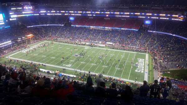 Gillette Stadium, home of New England Patriots, New England