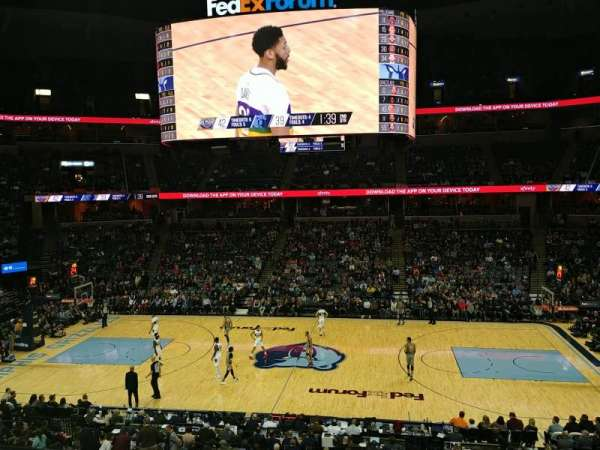 FedEx Forum, home of Memphis Grizzlies, Memphis Tigers
