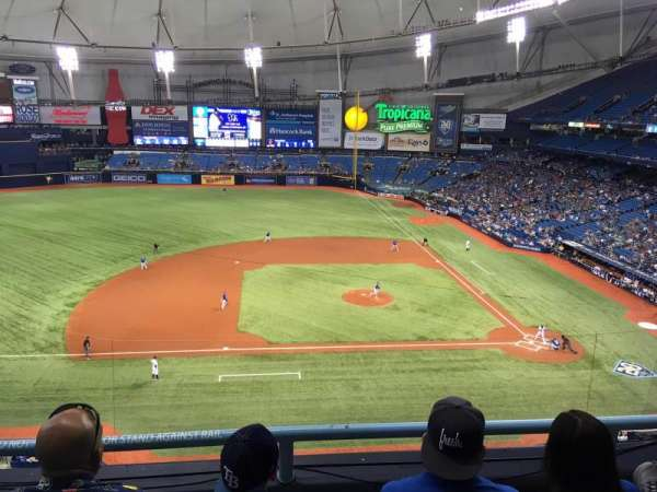 Tropicana Field Seating - Best Seat 2018