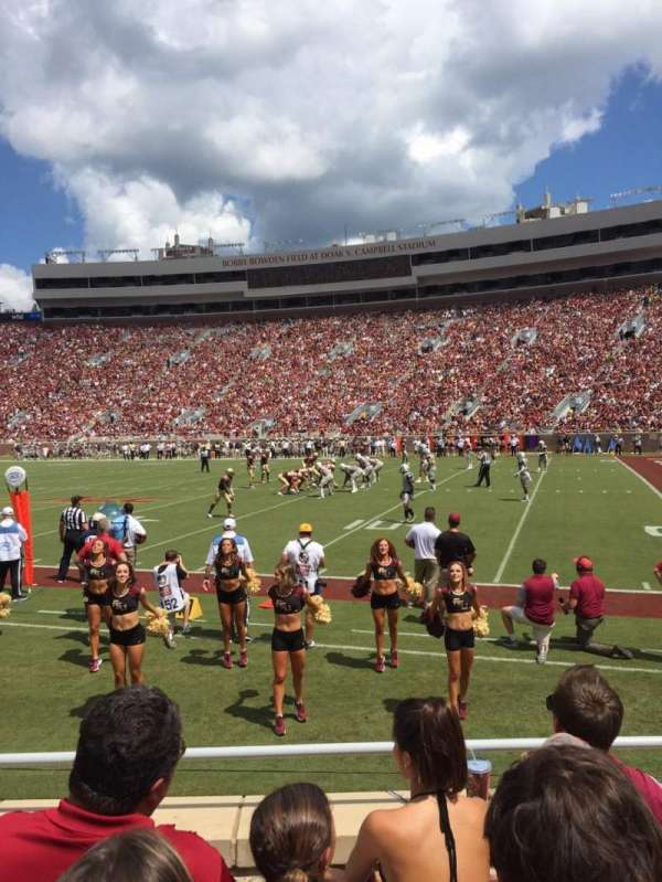 Bobby Bowden Field at Doak Campbell Stadium, home of Florida State