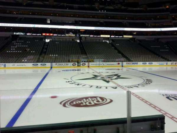 American Airlines Center, section 119, home of Dallas Stars, Dallas