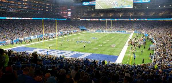 Ford Field, home of Detroit Lions