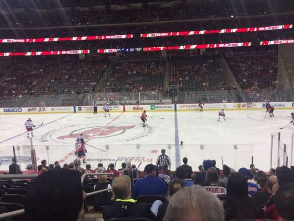 Prudential Center, section 9, home of New Jersey Devils, New Jersey