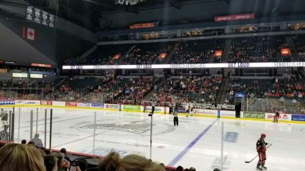 Van Andel Arena, section 107, home of Grand Rapids Griffins, Grand