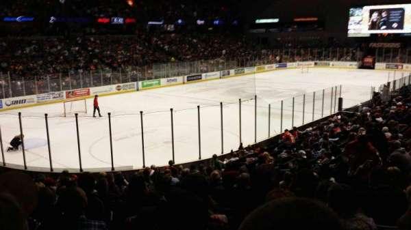 Van Andel Arena, section 126, home of Grand Rapids Griffins, Grand