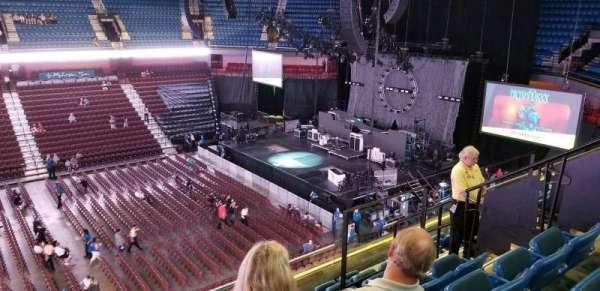 Mohegan Sun Arena, section 107, home of Connecticut Sun, New England