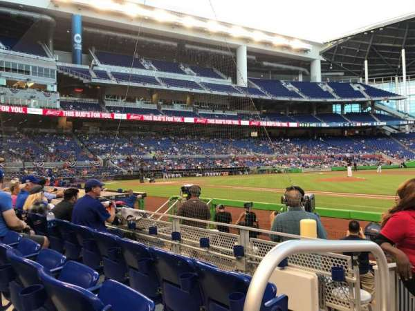 Can be in the shade during a day game at Marlins Park