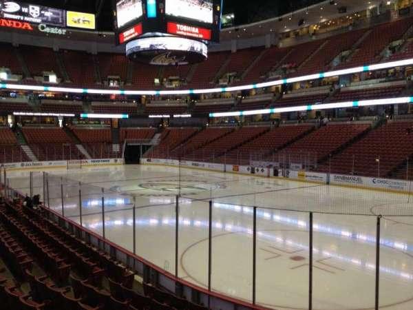 Honda Center, section 204, home of Anaheim Ducks, LA Kiss