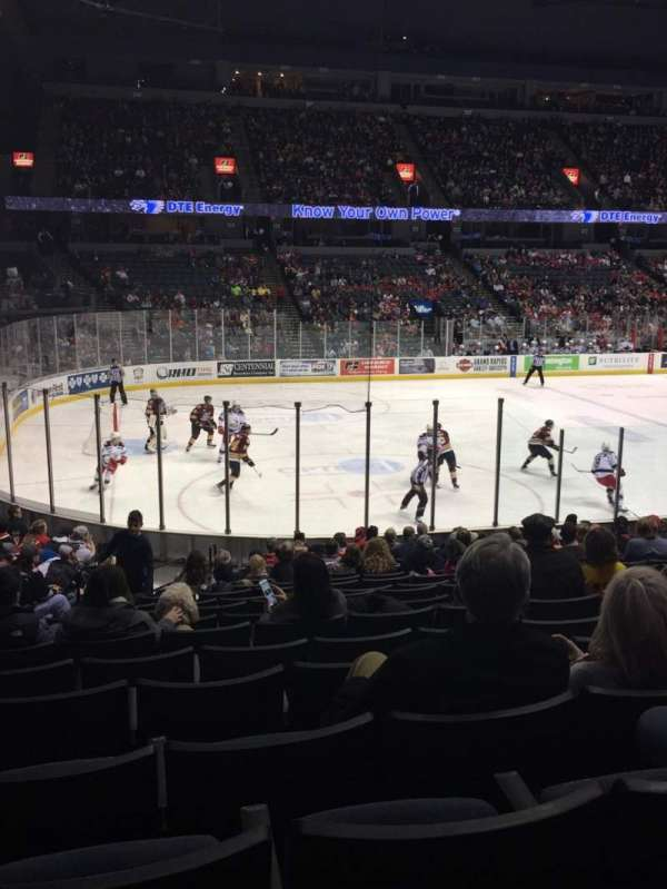 Van Andel Arena, section 110, home of Grand Rapids Griffins, Grand