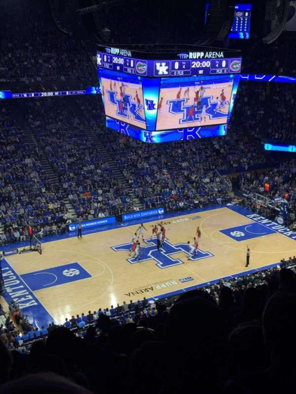 Rupp Arena, home of Kentucky Wildcats