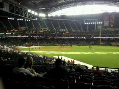 Seat view reviews from Chase Field, home of Arizona Diamondbacks