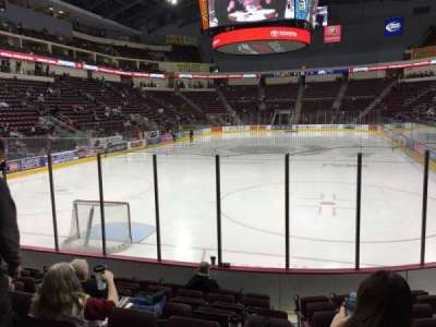 Seat view reviews from Giant Center, home of Hershey Bears