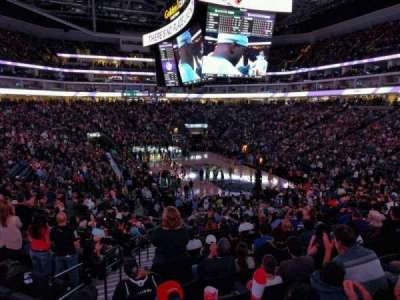 Seat view reviews from Golden 1 Center, home of Sacramento Kings
