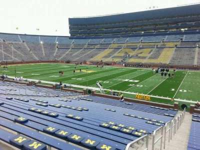 Michigan Stadium Seating Chart With Seat Numbers Hunt