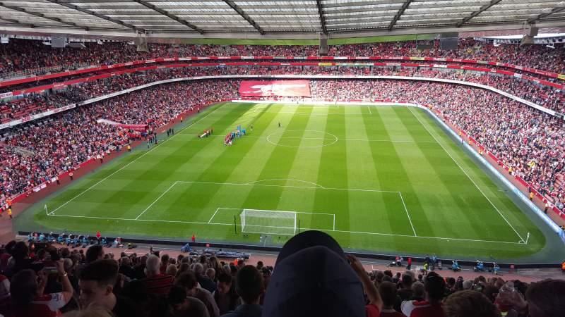 Tottenham Iphone 4 Wallpaper Emirates Stadium Section 123 Home Of Arsenal Fc