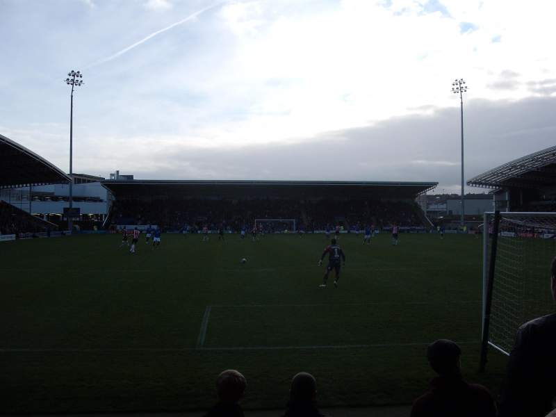 Sheffield United Iphone Wallpaper Proact Stadium Home Of Chesterfield F C