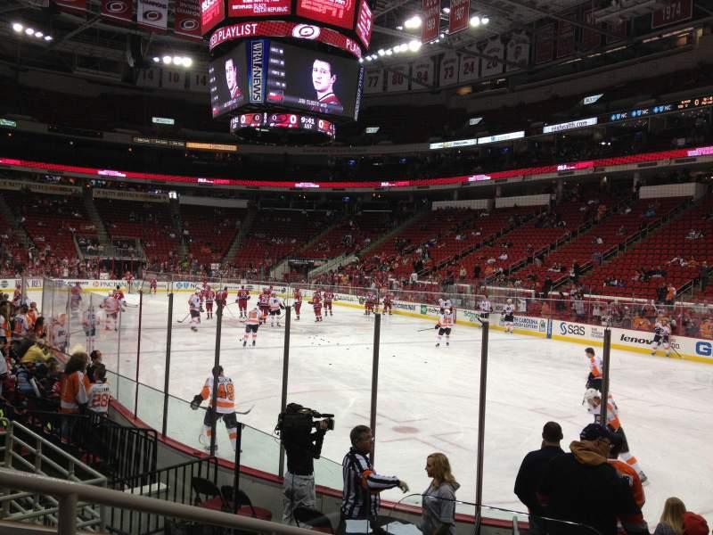 Philadelphia Flyers Wallpaper Iphone Pnc Arena Section 129 Row H Seat 9 Carolina Hurricanes