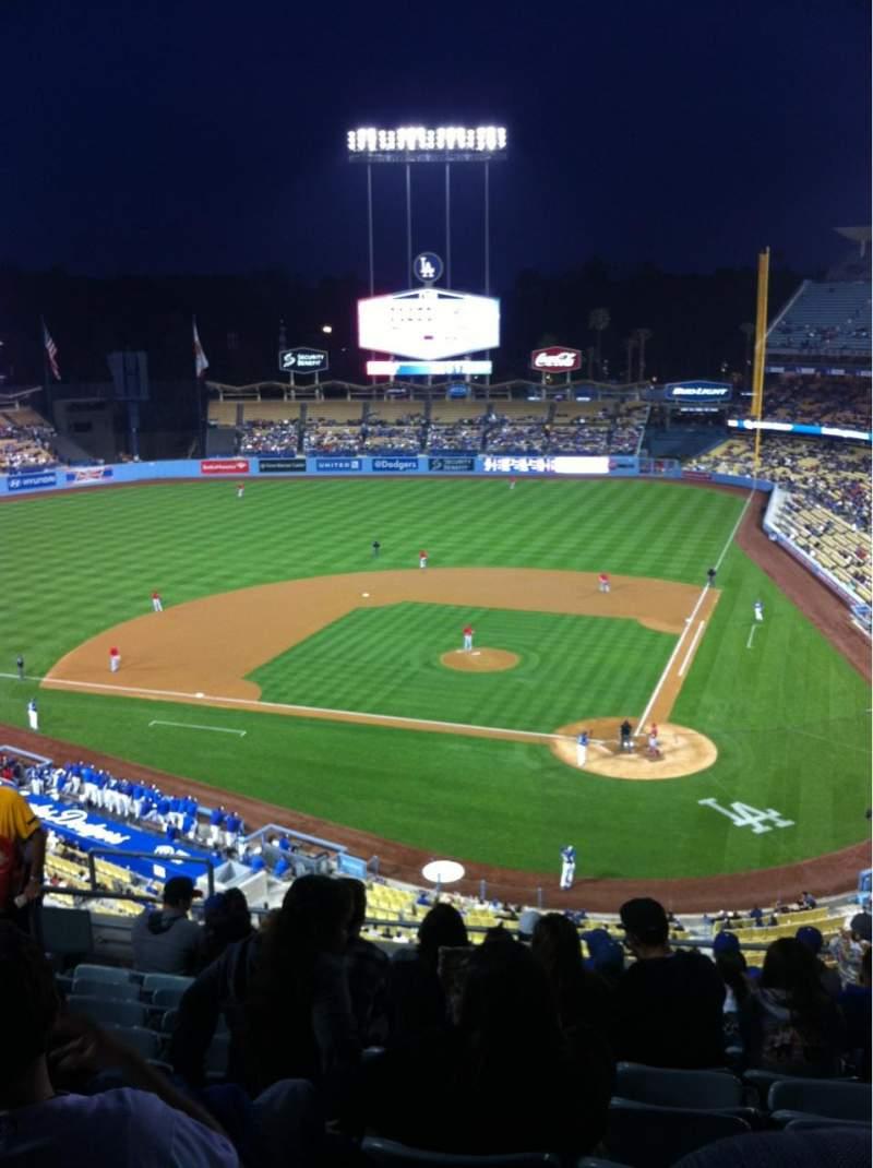 La Dodgers Iphone Wallpaper Dodger Stadium Section 7rs Row K Seat 15 Los Angeles