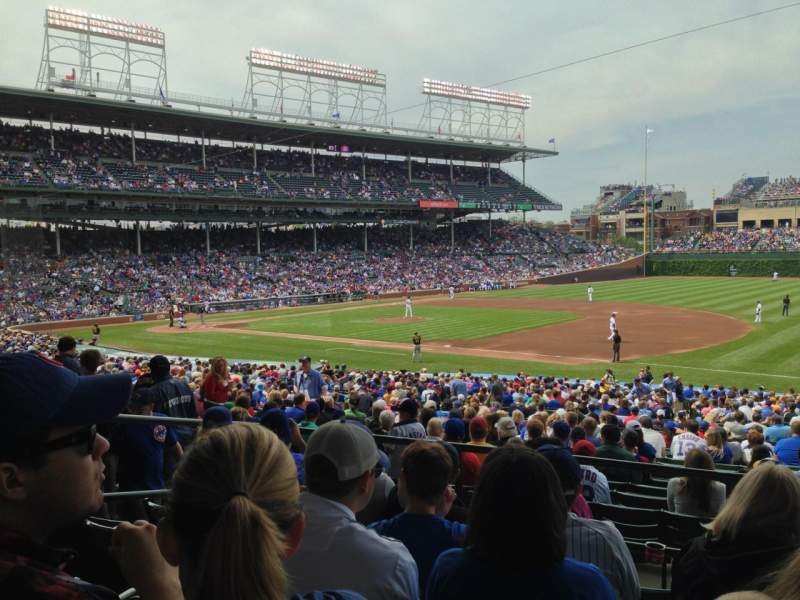 Chicago Cubs Wallpaper Iphone 6 Wrigley Field Section 235 Home Of Chicago Cubs