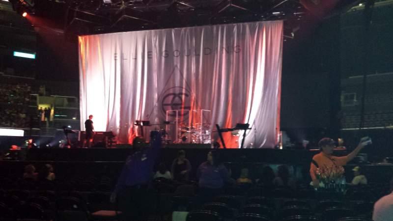 Ellie Goulding Wallpaper Iphone Staples Center Section Floor 3 Row 13 Seat 10 12 Ellie