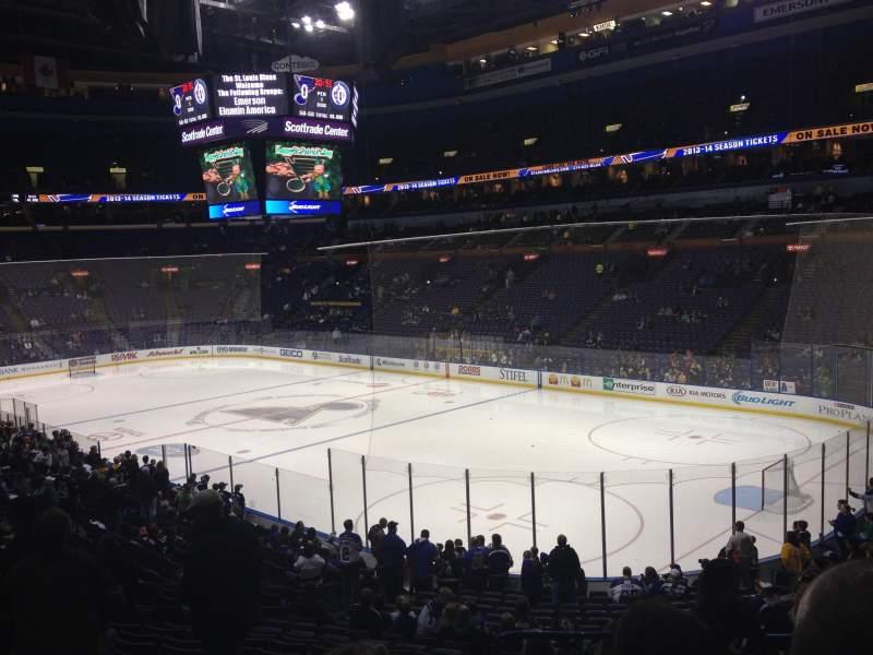 Winnipeg Jets Iphone Wallpaper Enterprise Center Section 126 Row Aa Seat 2 St Louis
