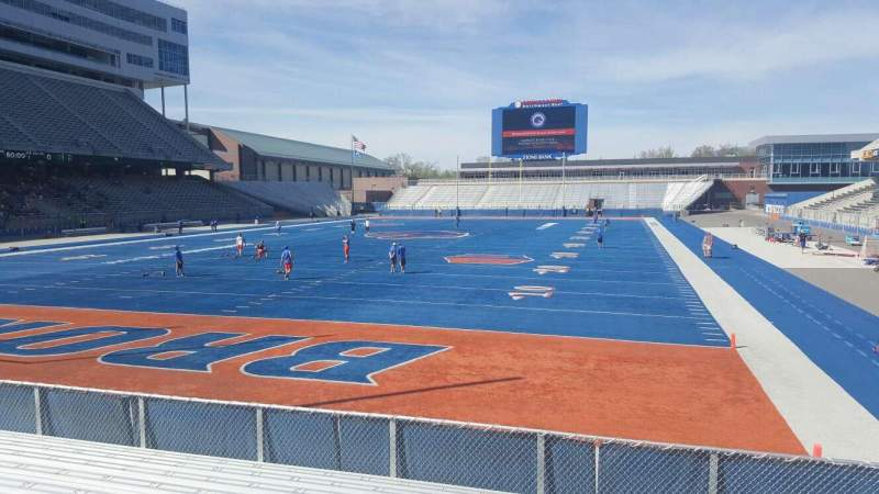 Boise State Wallpaper For Iphone Albertsons Stadium Interactive Seating Chart