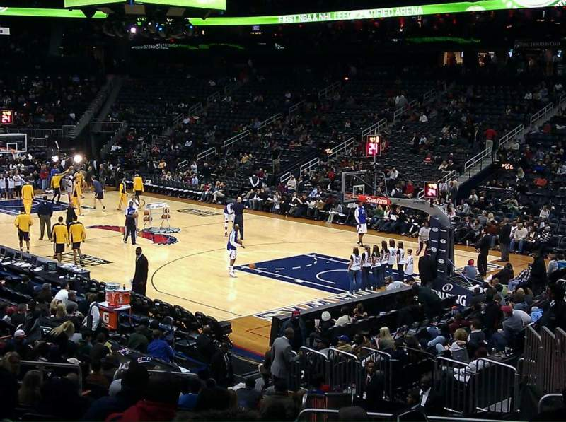 Atlanta Hawks Iphone 6 Wallpaper Philips Arena Section 122 Home Of Atlanta Thrashers