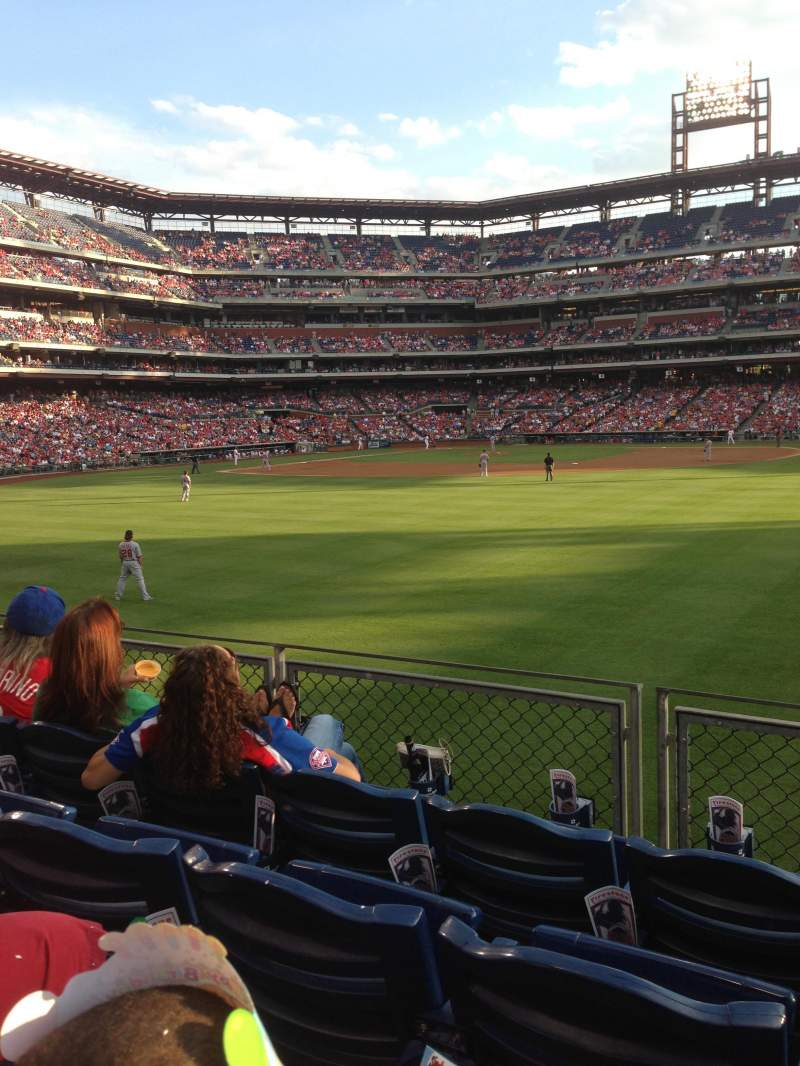 Phillies Iphone Wallpaper Citizens Bank Park Section 102 Row 4 Seat 5 Philadelphia