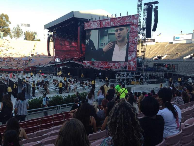 Jay Z Iphone Wallpaper Rose Bowl Section 19 H Row 9 Seat 114 One Direction