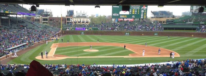 Chicago Cubs Wallpaper Iphone 6 Wrigley Field Section 226 Home Of Chicago Cubs