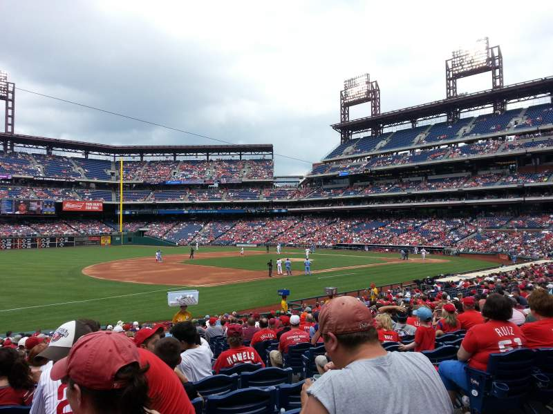 Phillies Iphone Wallpaper Citizens Bank Park Section 135 Row 28 Seat 4