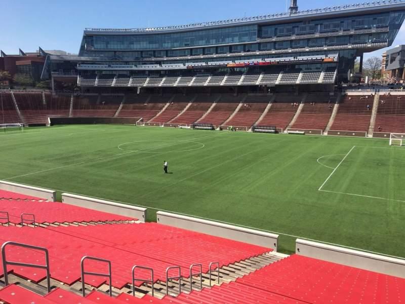 Nippert Stadium, section 102, row 32, seat 9 - FC Cincinnati, shared